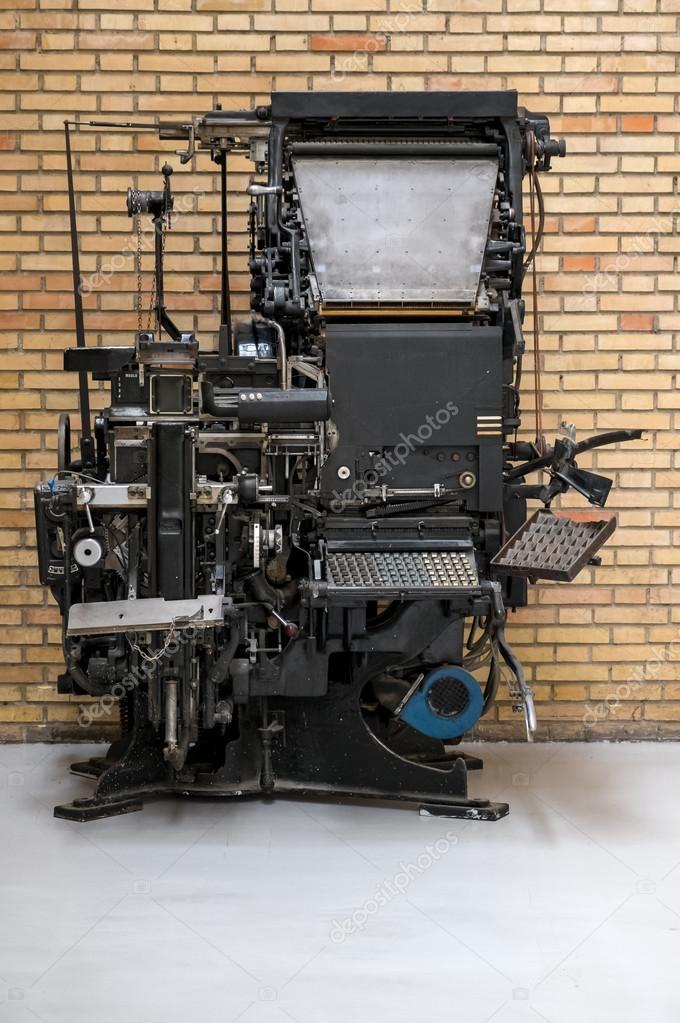 Linotype machine — Stock Photo © nacroba #66015413