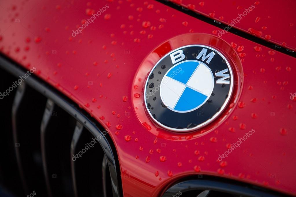 Bmw Red Logo Stock Editorial Photo Bizoon 112553232