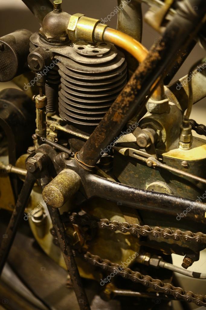 moteur de moto vintage photographie bizoon 93027664. Black Bedroom Furniture Sets. Home Design Ideas