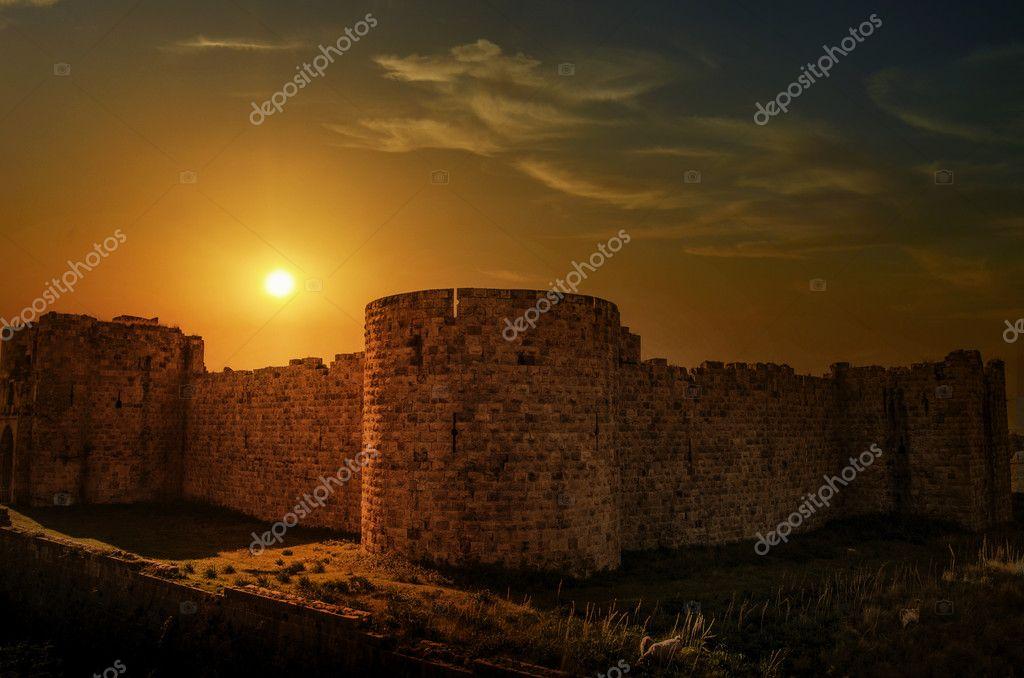 Payas Castle on Turkey