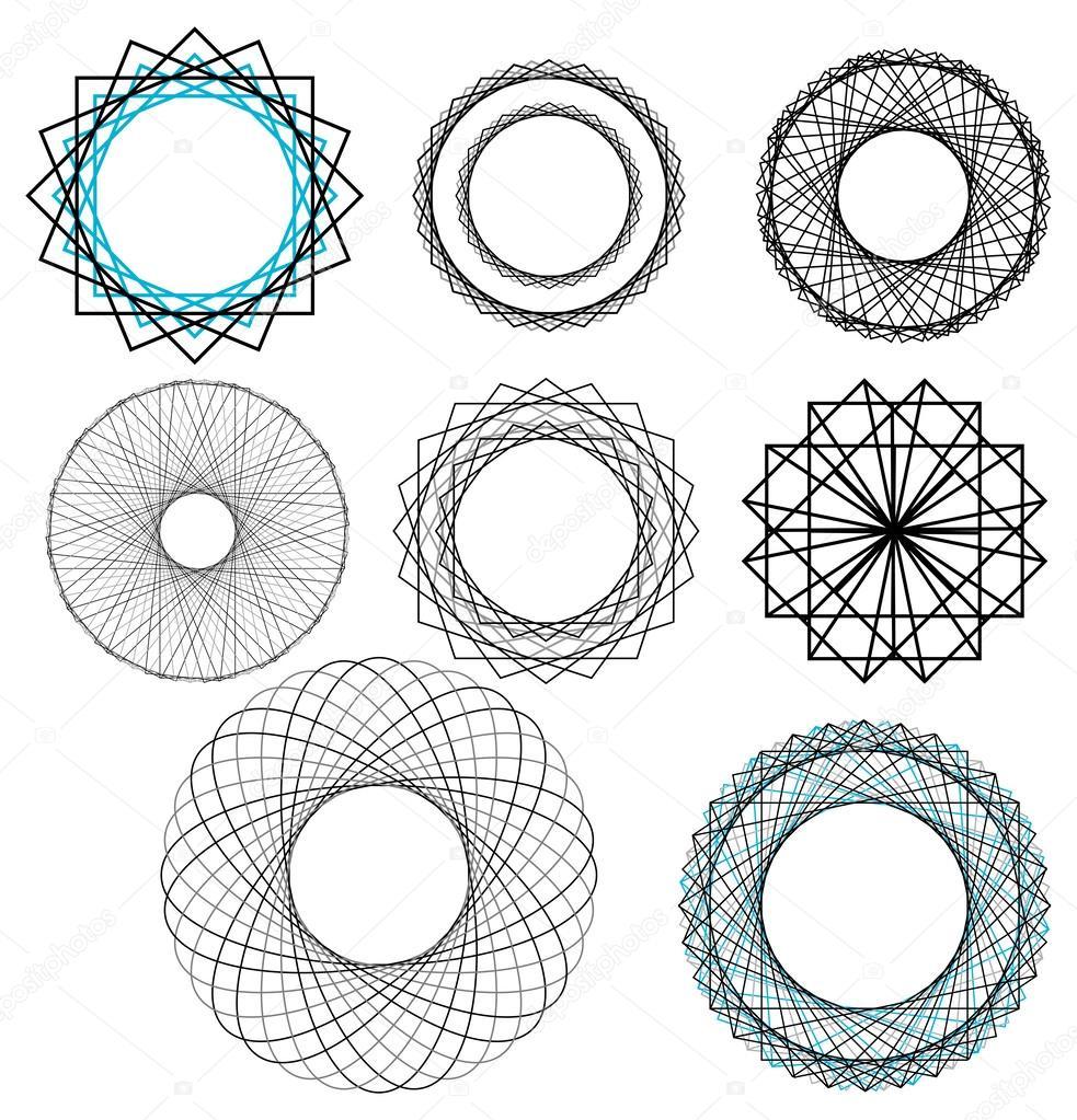 Ripetendo Disegni Geometrici Vettoriali Stock C Ashleynomad 51999631