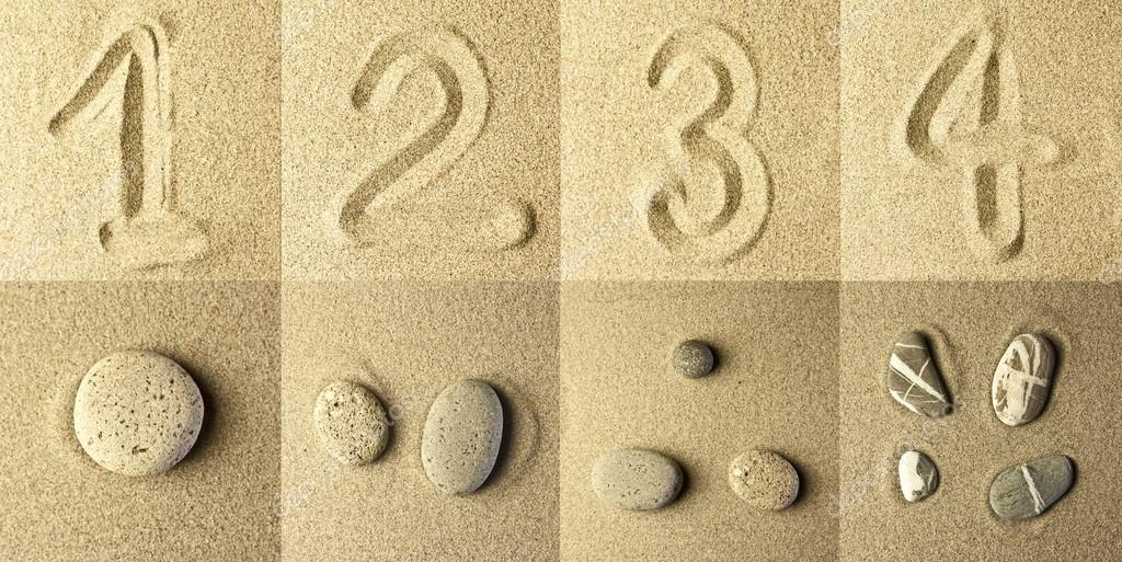 numbers Written in the Sand