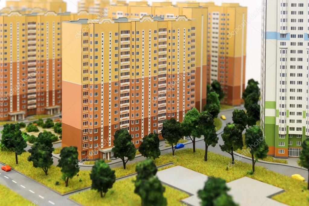 for Apartment complex layout