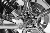 Photo Custom motorcycle wheel