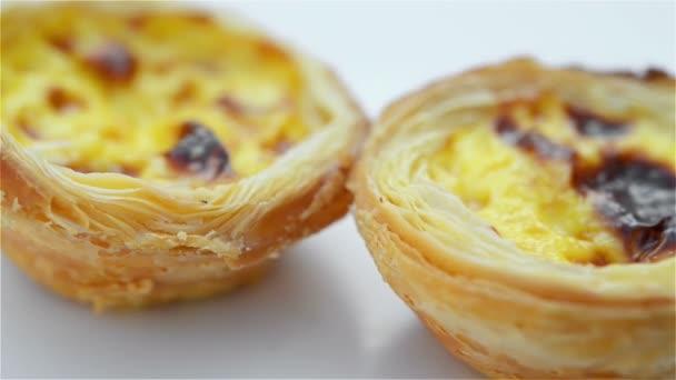 Rotációs portugál tojás torták