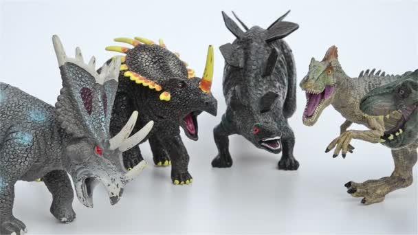 Tyrannosaurus Triceratops StegosaurusStyracosaurus Y De Juguetes Allosaurus SpGzMqUV