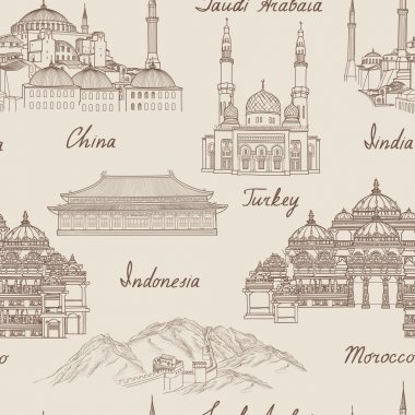 Travel Asia background
