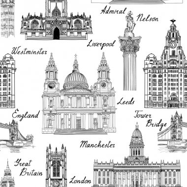 Famous architectural monuments  and buildings