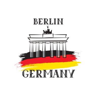 Travel Germany label