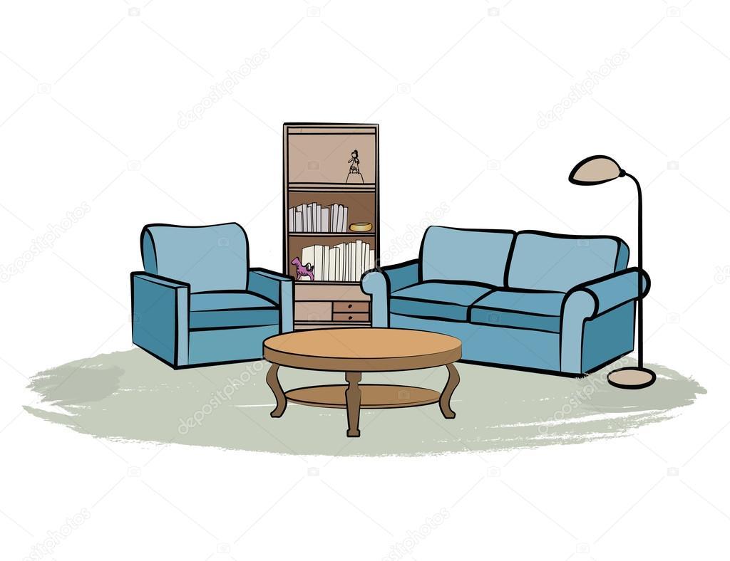 Casa arredamento interni vettoriali stock yokodesign 114868042 - Arredamento interni casa ...