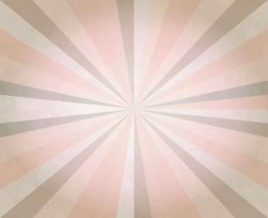 Abstract retro background. Sun Beams with Orange Yellow Blurred.