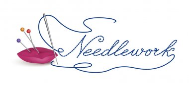 Needle and thread icon.