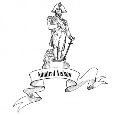 Admiral Nelson statue