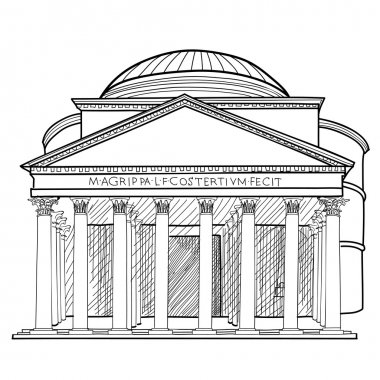 Italian landmark Panteon