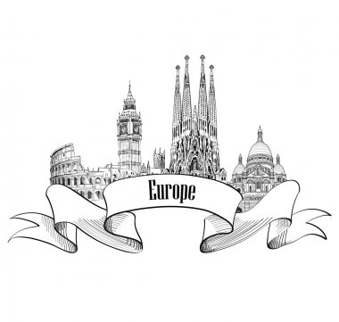 Travel Europe label