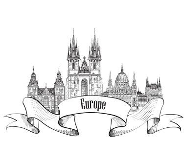 Travel Europe label
