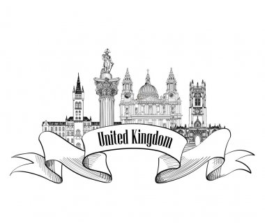 United Kingdom of Great Britain label