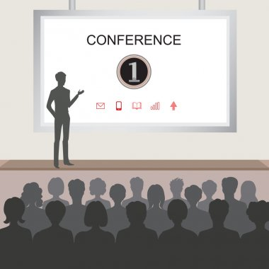 Conference room illustration