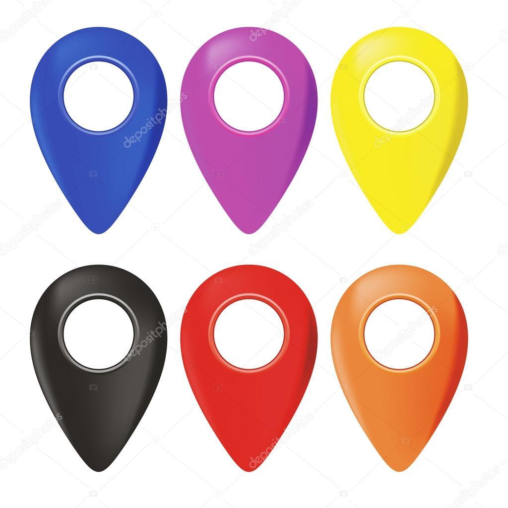 Google Map Pin Vector Images Royalty Free Google Map Pin Vectors Depositphotos