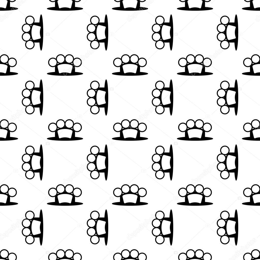Metal Knuckles de patrones sin fisuras — Archivo Imágenes ...