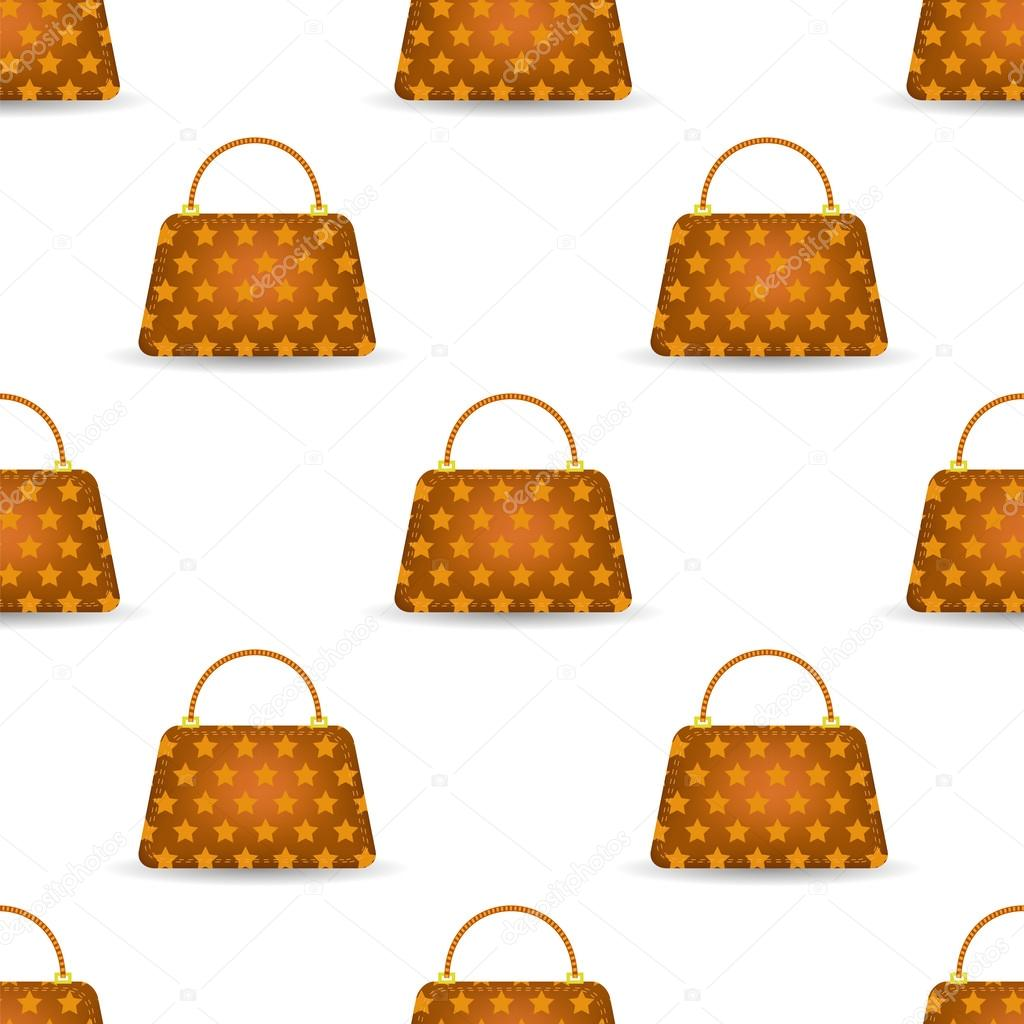 Bolsos sin costura naranja para mujer — Vector de stock © valeo6 ...
