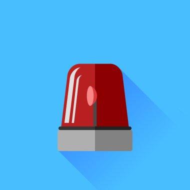 Red Siren Icon
