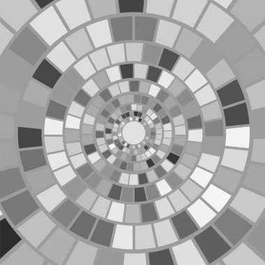 Grey Mosaic Background