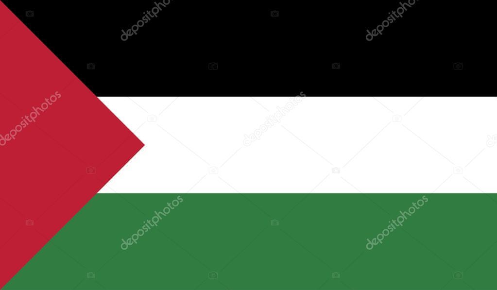 パレスチナの旗 — ストックベク...
