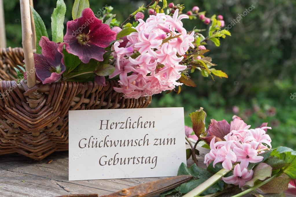 všechno nejlepší k narozeninám německy Všechno nejlepší k narozeninám — Stock Fotografie © coramueller  všechno nejlepší k narozeninám německy