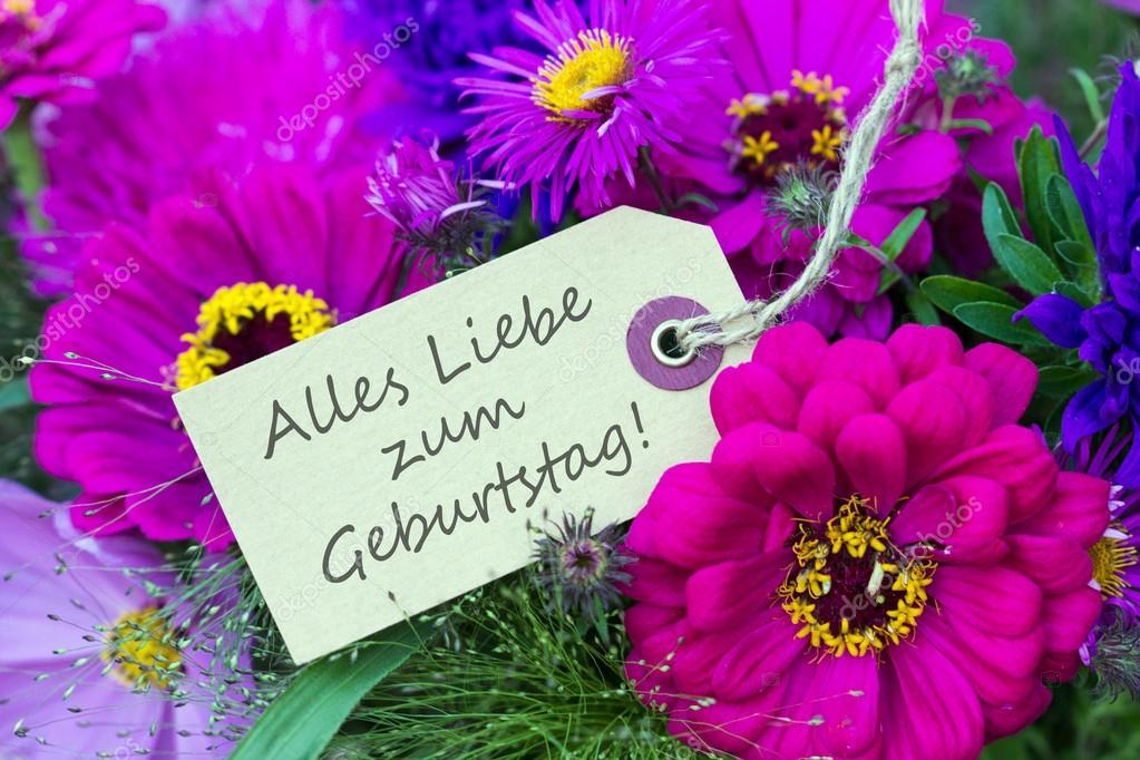 německé přání k narozeninám přání k narozeninám — Stock Fotografie © coramueller #52690793 německé přání k narozeninám