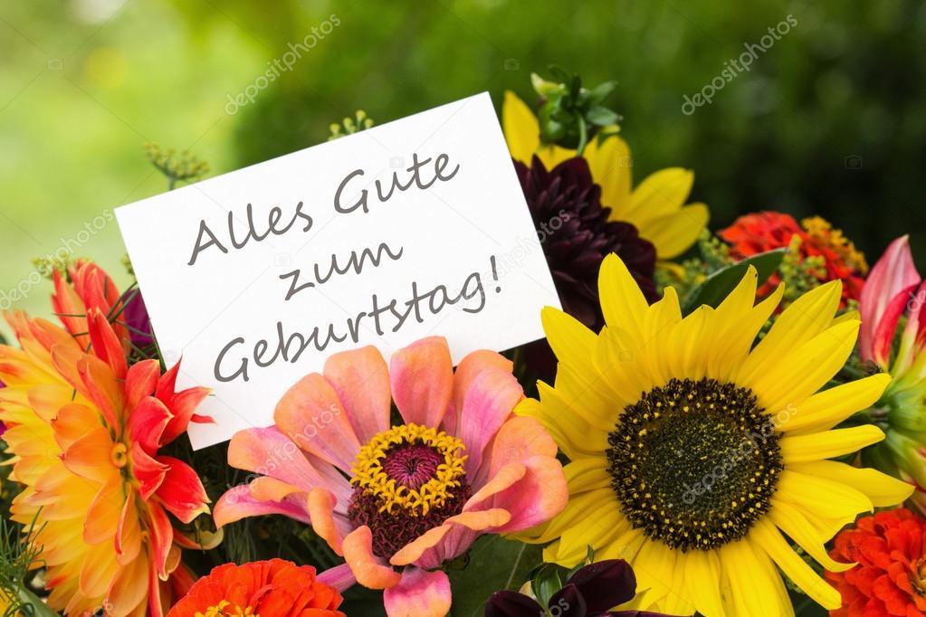 grattis tyska Grattis på födelsedagen — Stockfotografi © coramueller #53227875 grattis tyska