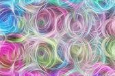 Fotografie Kunst, abstrakt hellen bunten hellen Streifen in blau