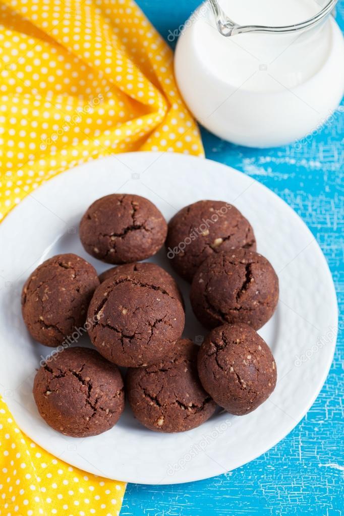 walnoot chocolade koekjes