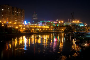 Cleveland sports district