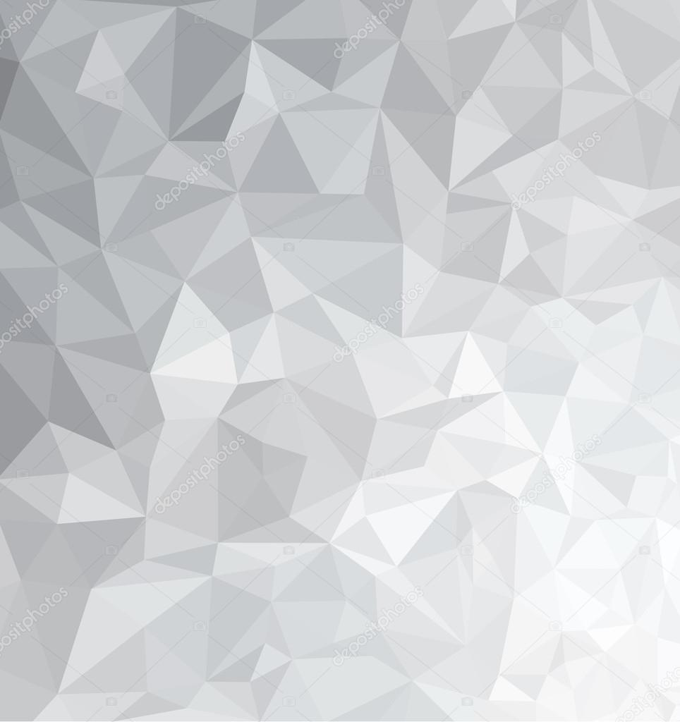Gray triangles background