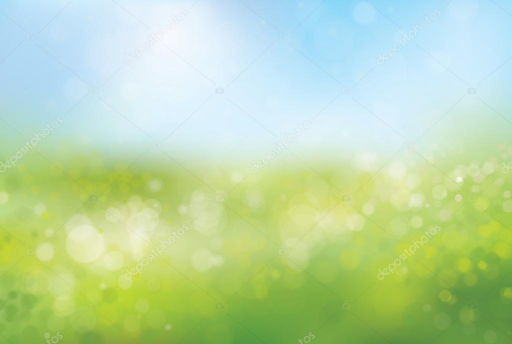 Blurred nature background.