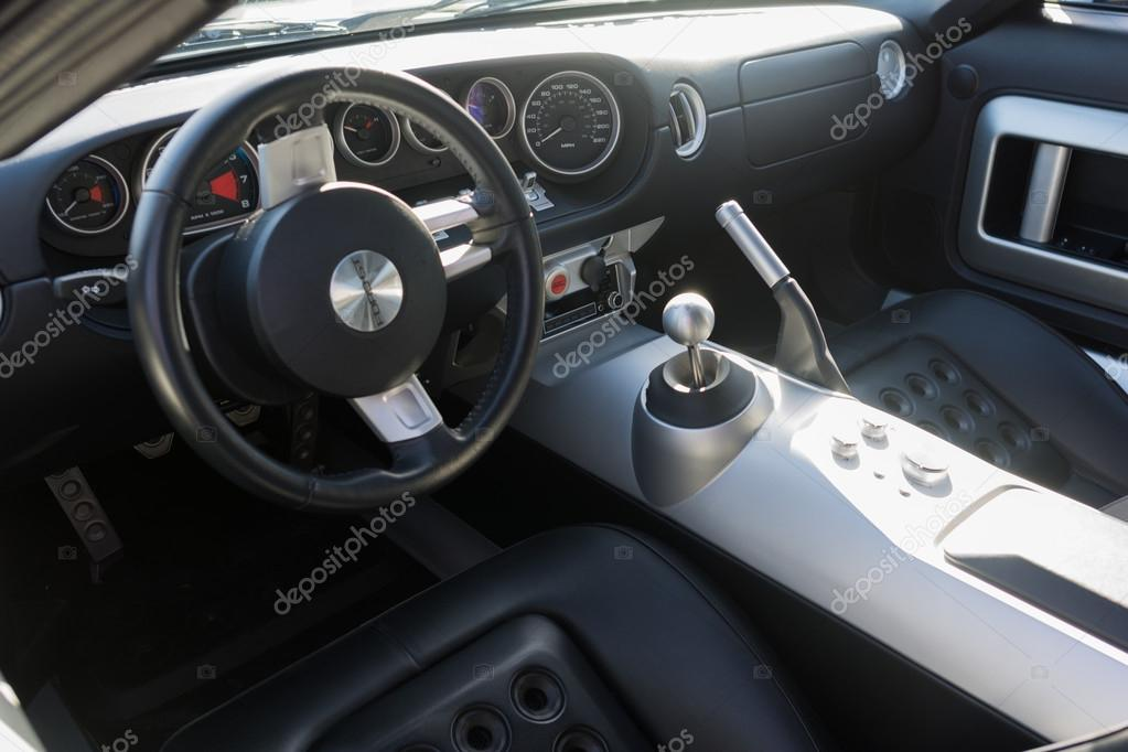 Ford Gt Interior Stock Photo