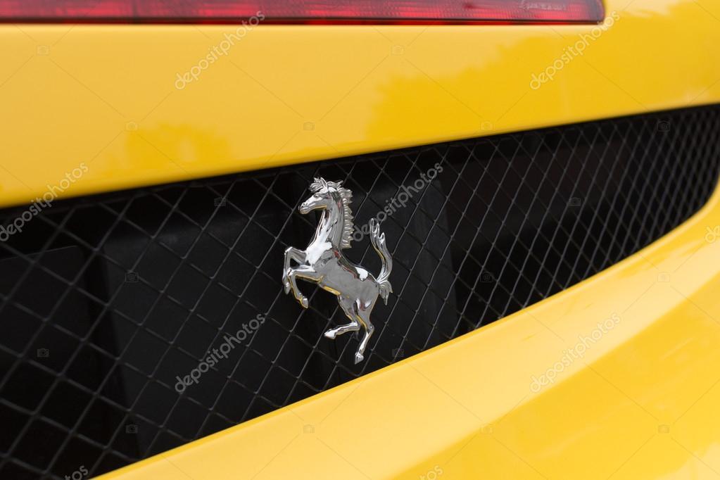 Logotipo De Lamborghini Gallardo Logotipo De Ferrari Amarillo En