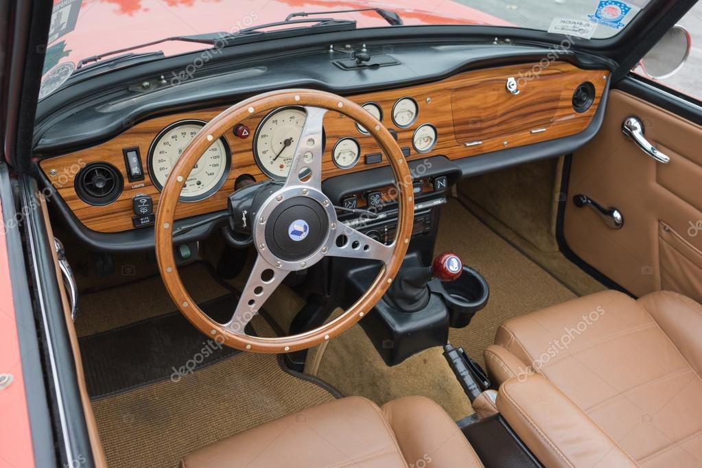 Triumph Tr6 Convertible Interior Stock Editorial Photo
