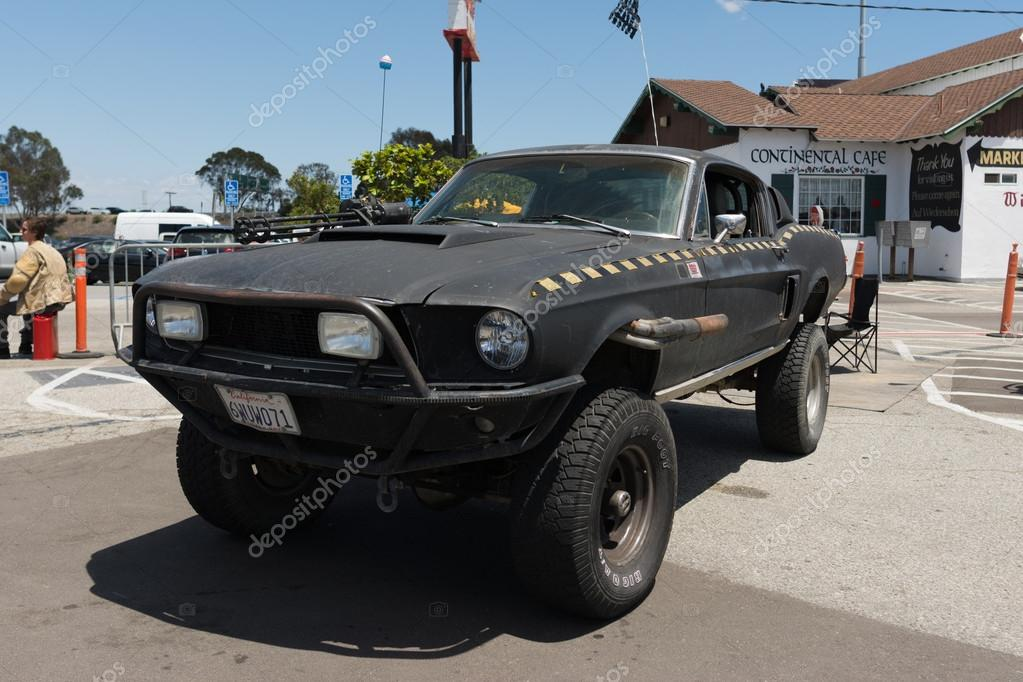 Ford Mustang post-apocalyptic survival vehicle