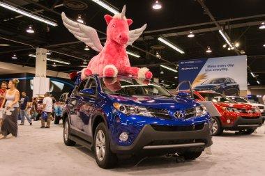 2015 Toyota RAV4 at the Orange County International Auto Show