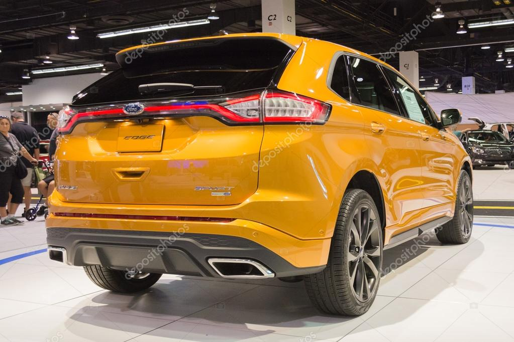 Ford Edge At The Orange County International Auto Show Stock Photo