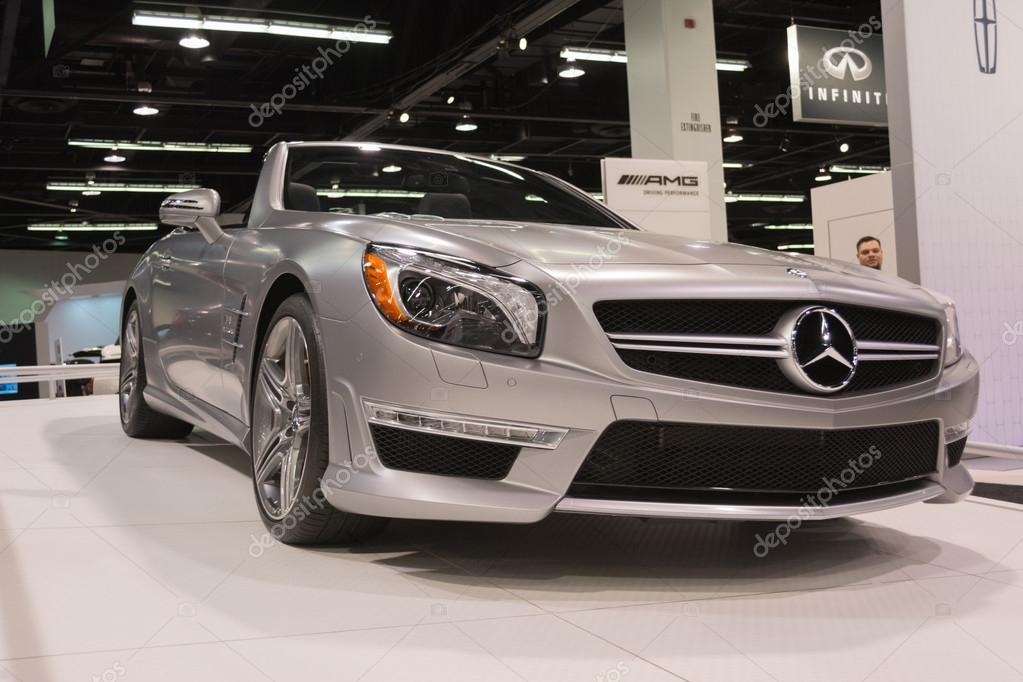 Anaheim, Ca   Outubro 3, 2014:2015 Mercedes Benz Cl 63 No Orange County  Internacional Auto Show Em Anaheim, Ca U2014 Fotografia Por Bettorodrigues