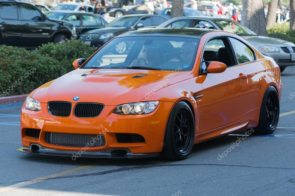 BMW car on display