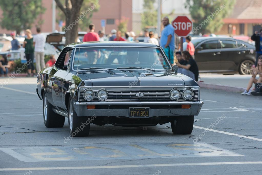 Chevrolet Impala Ss Araba Ekranda Stok Editoryel Fotoğraf