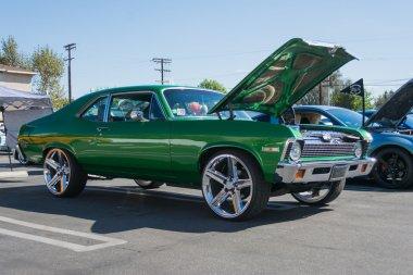 Chevrolet Nova SS custom on display