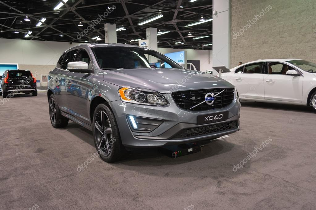 Volvo Of Orange County >> Volvo Xc 60 On Display Stock Editorial Photo