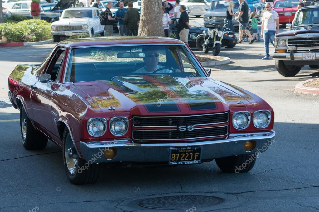 Chevrolet El Camino Ss On Display Stock Editorial Photo