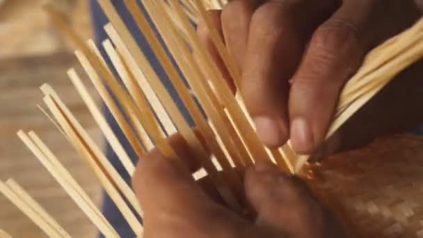 Bambus Weben
