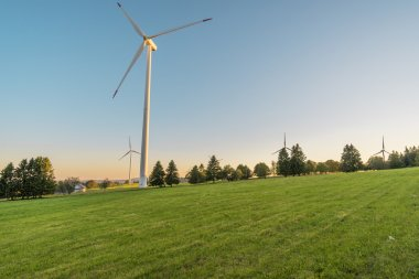 Wind mill wind energy park industrial energy production